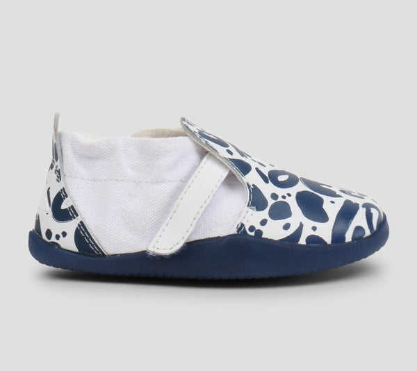 Xplorer Abstract White & Navy