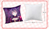 New Kurumi Tokisaki - Date a Live Anime Dakimakura Square Pillow Cover H0255 - Anime Dakimakura Pillow Shop | Fast, Free Shipping, Dakimakura Pillow & Cover shop, pillow For sale, Dakimakura Japan Store, Buy Custom Hugging Pillow Cover - 3