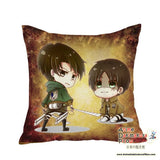 New Attack on Titan Anime Dakimakura Square Pillow Cover GZFONG01 - Anime Dakimakura Pillow Shop | Fast, Free Shipping, Dakimakura Pillow & Cover shop, pillow For sale, Dakimakura Japan Store, Buy Custom Hugging Pillow Cover - 1