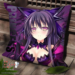 New Yatogami Tohka - Date a Live Anime Dakimakura Square Pillow Cover SPC03