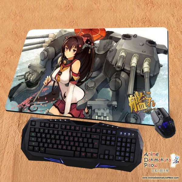New Yamato - Kantai Collection Anime Gaming Playmat Multipurpose Mousepad PM04 - Anime Dakimakura Pillow Shop | Fast, Free Shipping, Dakimakura Pillow & Cover shop, pillow For sale, Dakimakura Japan Store, Buy Custom Hugging Pillow Cover - 1