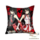 New Akame Ga Kill Anime High Quality Dakimakura Square Pillow Cover GZFONG05 - Anime Dakimakura Pillow Shop | Fast, Free Shipping, Dakimakura Pillow & Cover shop, pillow For sale, Dakimakura Japan Store, Buy Custom Hugging Pillow Cover - 1