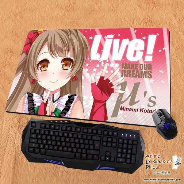 New Minami Kotori - Love Live Anime Gaming Playmat Multipurpose Mousepad PM06