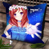 New Maki Nishikino - Love Live Anime Dakimakura Square Pillow Cover SPC06 - Anime Dakimakura Pillow Shop | Fast, Free Shipping, Dakimakura Pillow & Cover shop, pillow For sale, Dakimakura Japan Store, Buy Custom Hugging Pillow Cover - 1
