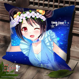New Nico Yazawa - Love Live Anime Dakimakura Square Pillow Cover SPC07 - Anime Dakimakura Pillow Shop | Fast, Free Shipping, Dakimakura Pillow & Cover shop, pillow For sale, Dakimakura Japan Store, Buy Custom Hugging Pillow Cover - 1