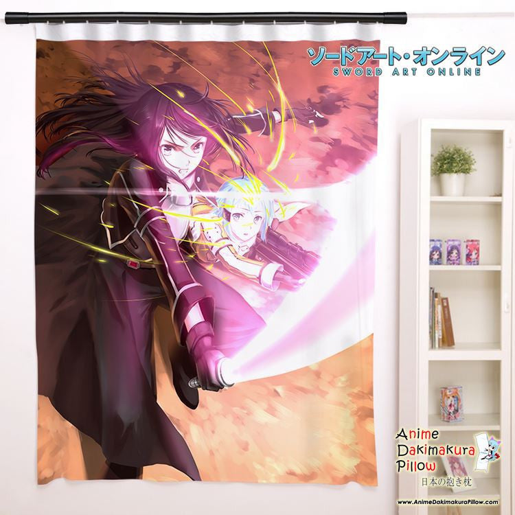 New Sword Art Online Anime Japanese Window Curtain Door Entrance Room Partition H0102