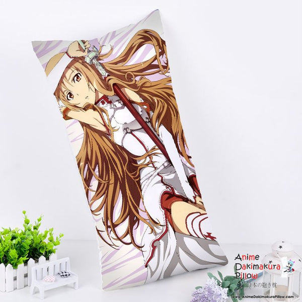 New Asuna - Sword Art Online Anime Dakimakura Rectangle Pillow Cover RPC105 - Anime Dakimakura Pillow Shop | Fast, Free Shipping, Dakimakura Pillow & Cover shop, pillow For sale, Dakimakura Japan Store, Buy Custom Hugging Pillow Cover - 1