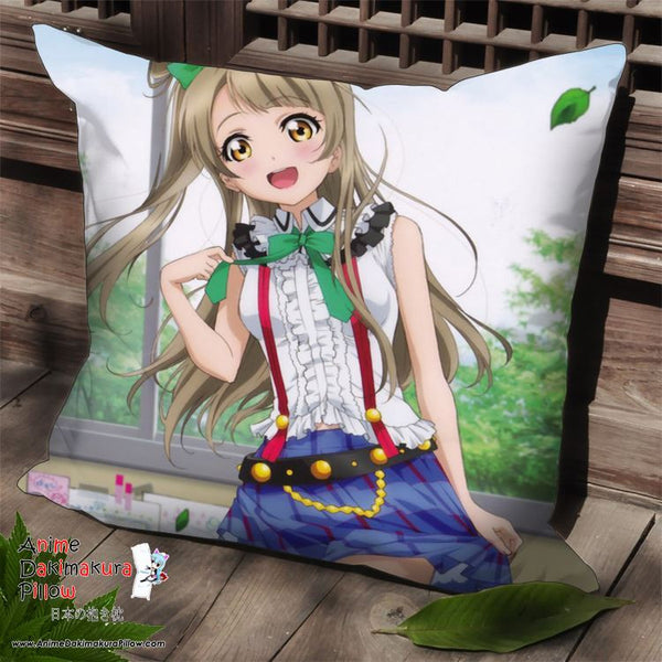 New Minami Kotori - Love Live Anime Dakimakura Square Pillow Cover SPC107 - Anime Dakimakura Pillow Shop | Fast, Free Shipping, Dakimakura Pillow & Cover shop, pillow For sale, Dakimakura Japan Store, Buy Custom Hugging Pillow Cover - 1