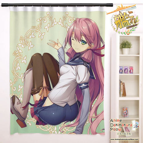 New Akashi - Kantai Collection Anime Japanese Window Curtain Door Entrance Room Partition H0109 - Anime Dakimakura Pillow Shop | Fast, Free Shipping, Dakimakura Pillow & Cover shop, pillow For sale, Dakimakura Japan Store, Buy Custom Hugging Pillow Cover - 1