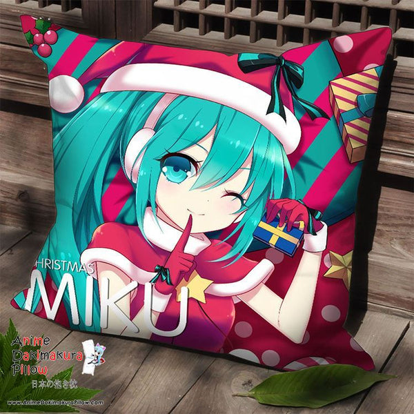 New Hatsune Miku - Vocaloid Anime Dakimakura Square Pillow Cover SPC10 - Anime Dakimakura Pillow Shop | Fast, Free Shipping, Dakimakura Pillow & Cover shop, pillow For sale, Dakimakura Japan Store, Buy Custom Hugging Pillow Cover - 1