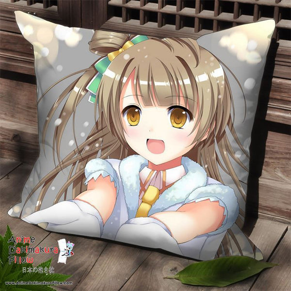 New Minami Kotori - Love Live Anime Dakimakura Square Pillow Cover SPC110 - Anime Dakimakura Pillow Shop | Fast, Free Shipping, Dakimakura Pillow & Cover shop, pillow For sale, Dakimakura Japan Store, Buy Custom Hugging Pillow Cover - 1