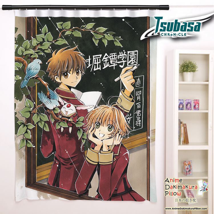 New Tsubasa Chronicles Anime Japanese Window Curtain Door Entrance Room Partition H0118