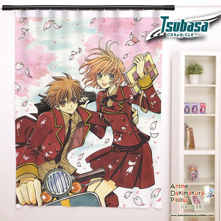 New Tsubasa Chronicles Anime Japanese Window Curtain Door Entrance Room Partition H0119