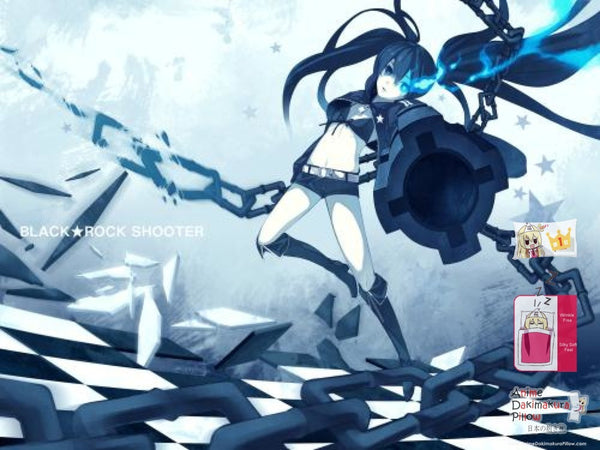 New Black Rock Shooter Japanese Anime Bed Blanket Cover or Duvet Cover Blanket 11