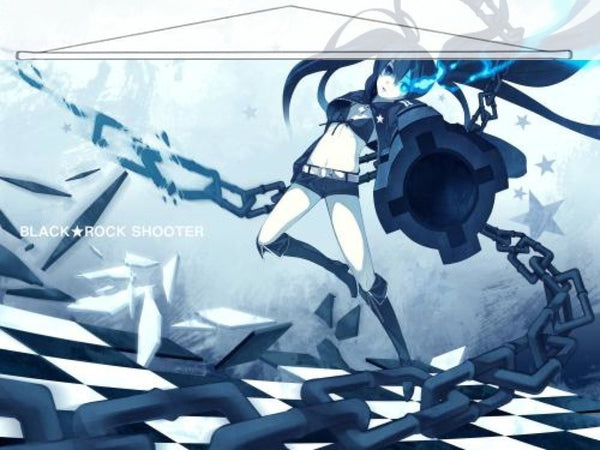 Black Rock Shooter Japanese Anime Wall Scroll Poster and Banner 11