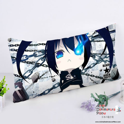 New Black Rock Shooter Anime Dakimakura Rectangle Pillow Cover RPC11 - Anime Dakimakura Pillow Shop | Fast, Free Shipping, Dakimakura Pillow & Cover shop, pillow For sale, Dakimakura Japan Store, Buy Custom Hugging Pillow Cover - 1