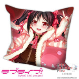 New Yazawa Nico - Love Live Anime Dakimakura Square Pillow Cover H011 - Anime Dakimakura Pillow Shop | Fast, Free Shipping, Dakimakura Pillow & Cover shop, pillow For sale, Dakimakura Japan Store, Buy Custom Hugging Pillow Cover - 1