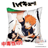 New Haikyuu 40x40cm Square Anime Dakimakura Waifu Throw Pillow Cover GZFONG120 - Anime Dakimakura Pillow Shop | Fast, Free Shipping, Dakimakura Pillow & Cover shop, pillow For sale, Dakimakura Japan Store, Buy Custom Hugging Pillow Cover - 1