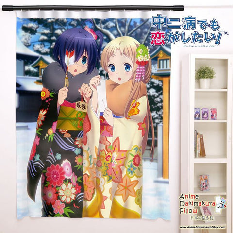 New Chuunibyou Demo Koi ga Shitai Anime Japanese Window Curtain Door Entrance Room Partition H0122 - Anime Dakimakura Pillow Shop | Fast, Free Shipping, Dakimakura Pillow & Cover shop, pillow For sale, Dakimakura Japan Store, Buy Custom Hugging Pillow Cover - 1