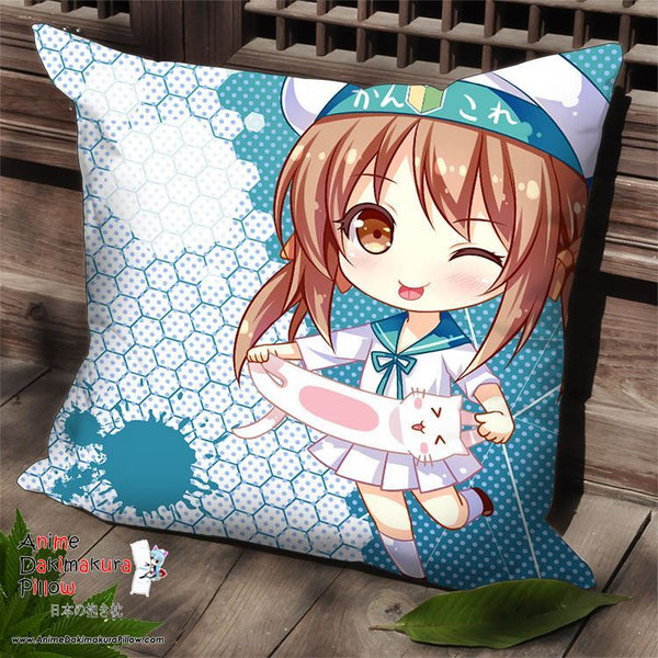 New Kantai Collection Anime Dakimakura Square Pillow Cover SPC122