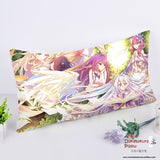 New No Game No Life Anime Dakimakura Rectangle Pillow Cover RPC126 - Anime Dakimakura Pillow Shop | Fast, Free Shipping, Dakimakura Pillow & Cover shop, pillow For sale, Dakimakura Japan Store, Buy Custom Hugging Pillow Cover - 1