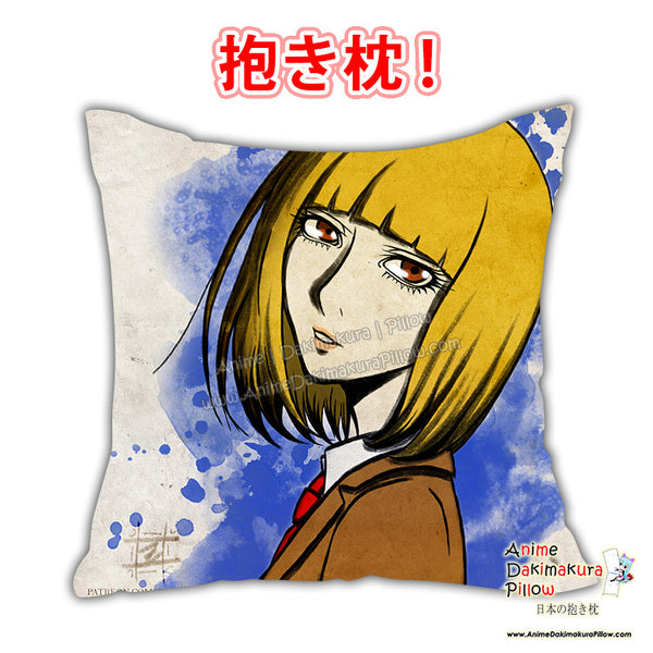 New Prison School Anime Dakimakura Japanese Square Pillow Cover Custom Designer YukiRichan ADC613