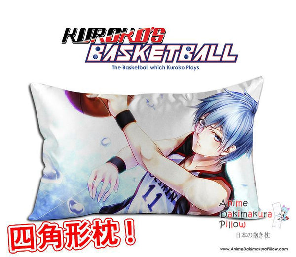 New Kuroko Tetsuya - Kuroko no Basket Anime Waifu Dakimakura Rectangle 40x70cm Pillow Cover GZFONG-12 - Anime Dakimakura Pillow Shop | Fast, Free Shipping, Dakimakura Pillow & Cover shop, pillow For sale, Dakimakura Japan Store, Buy Custom Hugging Pillow Cover - 1