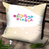 New Nanami Knight - Kanojo ga Flag wo Oraretara Anime Dakimakura Square Pillow Cover SPC133 - Anime Dakimakura Pillow Shop | Fast, Free Shipping, Dakimakura Pillow & Cover shop, pillow For sale, Dakimakura Japan Store, Buy Custom Hugging Pillow Cover - 2