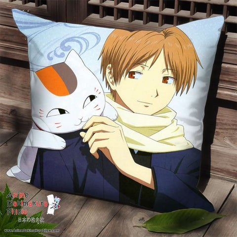 New Natsume's Book of Friends Anime Dakimakura Square Pillow Cover SPC136 - Anime Dakimakura Pillow Shop | Fast, Free Shipping, Dakimakura Pillow & Cover shop, pillow For sale, Dakimakura Japan Store, Buy Custom Hugging Pillow Cover - 1