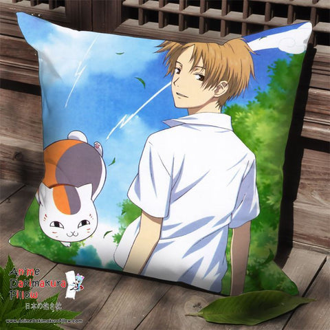 New Natsume's Book of Friends Anime Dakimakura Square Pillow Cover SPC137 - Anime Dakimakura Pillow Shop | Fast, Free Shipping, Dakimakura Pillow & Cover shop, pillow For sale, Dakimakura Japan Store, Buy Custom Hugging Pillow Cover - 1