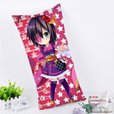 New Rikka - Chuunibyou demo koi ga shitai Anime Dakimakura Rectangle Pillow Cover RPC138 - Anime Dakimakura Pillow Shop | Fast, Free Shipping, Dakimakura Pillow & Cover shop, pillow For sale, Dakimakura Japan Store, Buy Custom Hugging Pillow Cover - 1