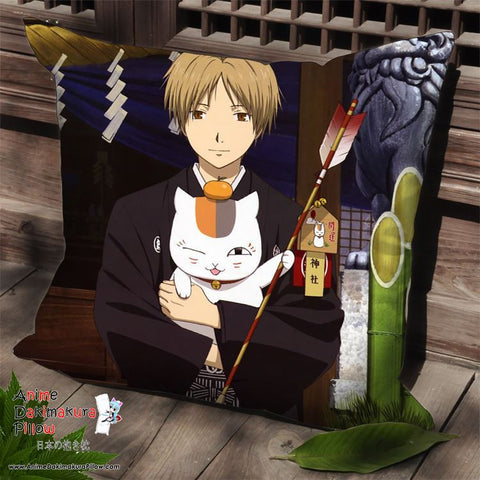 New Natsume's Book of Friends Anime Dakimakura Square Pillow Cover SPC138 - Anime Dakimakura Pillow Shop | Fast, Free Shipping, Dakimakura Pillow & Cover shop, pillow For sale, Dakimakura Japan Store, Buy Custom Hugging Pillow Cover - 1