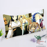 New Invaders of the Rokujouma Anime Dakimakura Rectangle Pillow Cover RPC139 - Anime Dakimakura Pillow Shop | Fast, Free Shipping, Dakimakura Pillow & Cover shop, pillow For sale, Dakimakura Japan Store, Buy Custom Hugging Pillow Cover - 1
