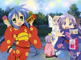 New Lucky Star Japanese Anime Bed Blanket Cover or Duvet Cover Blanket 13 - Anime Dakimakura Pillow Shop | Fast, Free Shipping, Dakimakura Pillow & Cover shop, pillow For sale, Dakimakura Japan Store, Buy Custom Hugging Pillow Cover - 1