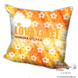 New Kousaka Honoka - Love Live Anime Dakimakura Square Pillow Cover H013 - Anime Dakimakura Pillow Shop | Fast, Free Shipping, Dakimakura Pillow & Cover shop, pillow For sale, Dakimakura Japan Store, Buy Custom Hugging Pillow Cover - 2