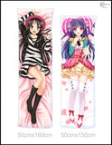 New Hatsune Miku and Rin Kagamine - Vocaloid Anime Dakimakura Japanese Pillow Cover HM27 - Anime Dakimakura Pillow Shop | Fast, Free Shipping, Dakimakura Pillow & Cover shop, pillow For sale, Dakimakura Japan Store, Buy Custom Hugging Pillow Cover - 6