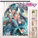 New Hatsune Miku - Vocaloid Anime Japanese Window Curtain Door Entrance Room Partition H0140 - Anime Dakimakura Pillow Shop | Fast, Free Shipping, Dakimakura Pillow & Cover shop, pillow For sale, Dakimakura Japan Store, Buy Custom Hugging Pillow Cover - 1