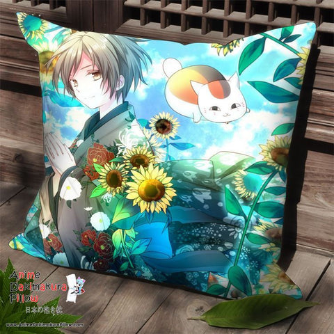 New Natsume's Book of Friends Anime Dakimakura Square Pillow Cover SPC140 - Anime Dakimakura Pillow Shop | Fast, Free Shipping, Dakimakura Pillow & Cover shop, pillow For sale, Dakimakura Japan Store, Buy Custom Hugging Pillow Cover - 1