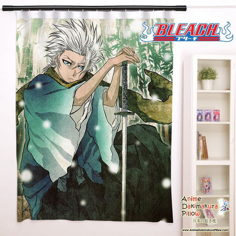 New Toshiro Hitsugaya - Bleach Anime Japanese Window Curtain Door Entrance Room Partition H0141 - Anime Dakimakura Pillow Shop | Fast, Free Shipping, Dakimakura Pillow & Cover shop, pillow For sale, Dakimakura Japan Store, Buy Custom Hugging Pillow Cover - 1