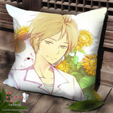 New Natsume's Book of Friends Anime Dakimakura Square Pillow Cover SPC142 - Anime Dakimakura Pillow Shop | Fast, Free Shipping, Dakimakura Pillow & Cover shop, pillow For sale, Dakimakura Japan Store, Buy Custom Hugging Pillow Cover - 1