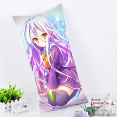 New Shiro - No Game No Life Anime Dakimakura Rectangle Pillow Cover RPC143