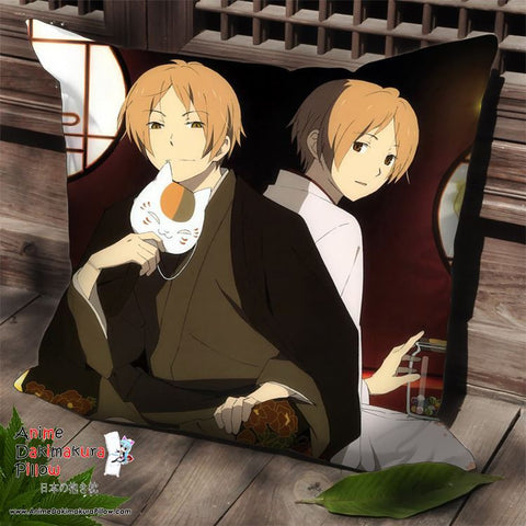 New Natsume's Book of Friends Anime Dakimakura Square Pillow Cover SPC145 - Anime Dakimakura Pillow Shop | Fast, Free Shipping, Dakimakura Pillow & Cover shop, pillow For sale, Dakimakura Japan Store, Buy Custom Hugging Pillow Cover - 1