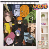 New Akatsuki - Naruto Anime Japanese Window Curtain Door Entrance Room Partition H0146 - Anime Dakimakura Pillow Shop | Fast, Free Shipping, Dakimakura Pillow & Cover shop, pillow For sale, Dakimakura Japan Store, Buy Custom Hugging Pillow Cover - 1