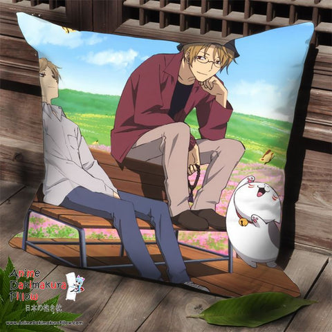 New Natsume's Book of Friends Anime Dakimakura Square Pillow Cover SPC146 - Anime Dakimakura Pillow Shop | Fast, Free Shipping, Dakimakura Pillow & Cover shop, pillow For sale, Dakimakura Japan Store, Buy Custom Hugging Pillow Cover - 1