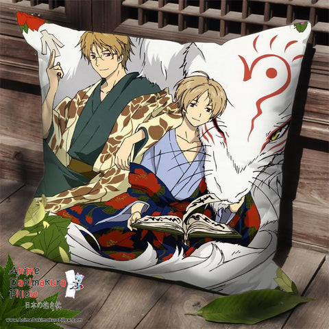 New Natsume's Book of Friends Anime Dakimakura Square Pillow Cover SPC148 - Anime Dakimakura Pillow Shop | Fast, Free Shipping, Dakimakura Pillow & Cover shop, pillow For sale, Dakimakura Japan Store, Buy Custom Hugging Pillow Cover - 1