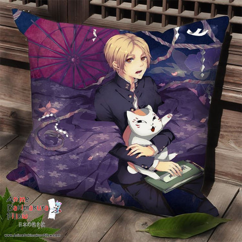 New Natsume's Book of Friends Anime Dakimakura Square Pillow Cover SPC149 - Anime Dakimakura Pillow Shop | Fast, Free Shipping, Dakimakura Pillow & Cover shop, pillow For sale, Dakimakura Japan Store, Buy Custom Hugging Pillow Cover - 1