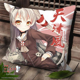 New Amatsukaze Kai - Kantai Collection Anime Dakimakura Square Pillow Cover SPC14 - Anime Dakimakura Pillow Shop | Fast, Free Shipping, Dakimakura Pillow & Cover shop, pillow For sale, Dakimakura Japan Store, Buy Custom Hugging Pillow Cover - 1