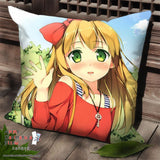 New Azusa Azuki - Hentai Ouji to Warawanai Neko Anime Dakimakura Square Pillow Cover SPC156 - Anime Dakimakura Pillow Shop | Fast, Free Shipping, Dakimakura Pillow & Cover shop, pillow For sale, Dakimakura Japan Store, Buy Custom Hugging Pillow Cover - 1