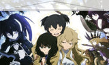 Black Rock Shooter Japanese Anime Wall Scroll Poster and Banner 15 - Anime Dakimakura Pillow Shop | Fast, Free Shipping, Dakimakura Pillow & Cover shop, pillow For sale, Dakimakura Japan Store, Buy Custom Hugging Pillow Cover - 1
