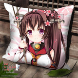 New Kantai Collection Anime Dakimakura Square Pillow Cover SPC15 - Anime Dakimakura Pillow Shop | Fast, Free Shipping, Dakimakura Pillow & Cover shop, pillow For sale, Dakimakura Japan Store, Buy Custom Hugging Pillow Cover - 1